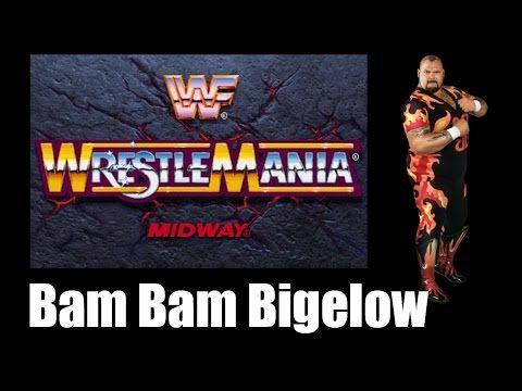 WWF Wrestlemania: The Arcade Game - GameShelf (Bam Bam Bigelow)