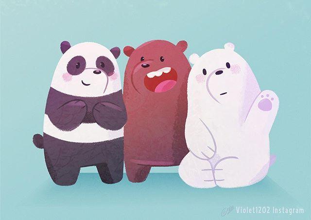 We Bare Bears: Grizz, Panda, Ice bear