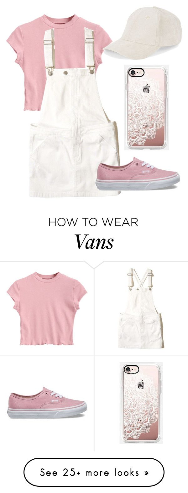"""Untitled #1"" by madisonfallu on Polyvore featuring Hollister Co., Vans, BCBGeneration and Casetify"