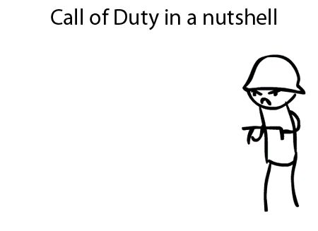Call of duty in a nutshell (gif)