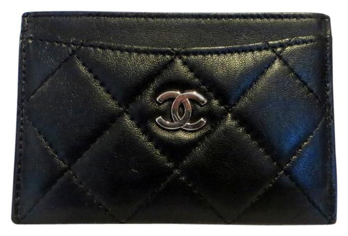 Classic Chanel Card Holder Wallet Business Credit Case Quilted. Free shipping and guaranteed authenticity on Classic Chanel Card Holder Wallet Business Credit Case QuiltedCHANEL Leather Quilted Card Case  $ 495.00  Chanel...
