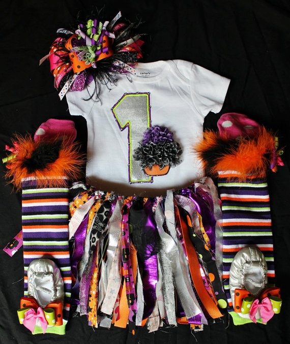 items similar to halloween birthday outfit on etsy - Baby Halloween Birthday Party