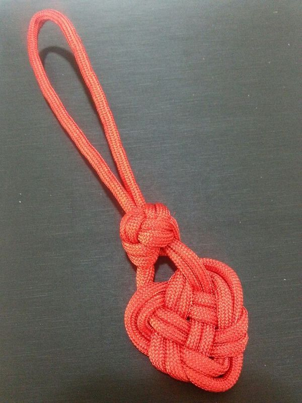 Good way to tie off end of paracord