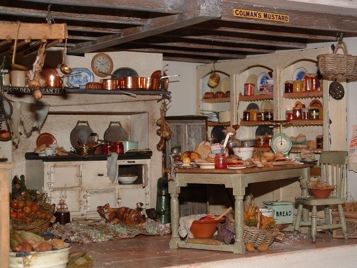 1272 best COCINAS MINIATURA images on Pinterest | Kitchens, Doll ...
