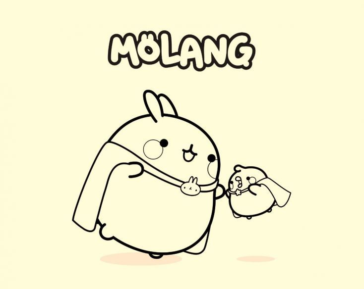 Image result for molang coloring pages (With images) | Molang