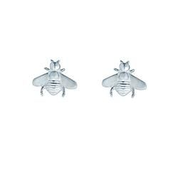 Bees - silver studs