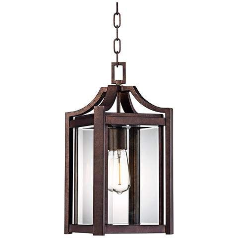 "Rockford Collection 17"" High Bronze Outdoor Hanging Light - #V5568 | www.lampsplus.com"