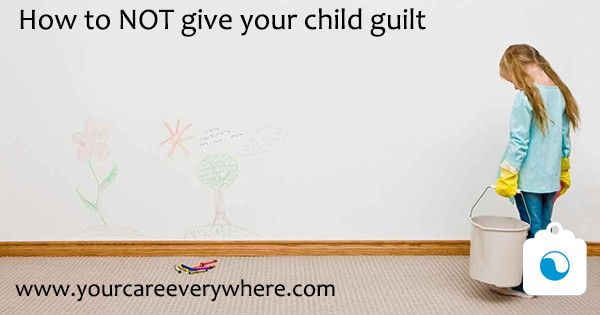 """Kids who constantly apologize for seemingly minor offenses, say they're """"bad kids,"""" or blame themselves for things that aren't their fault, may be at risk for later depression. Learn how to help your child release guilt and forge a healthy path forward."""