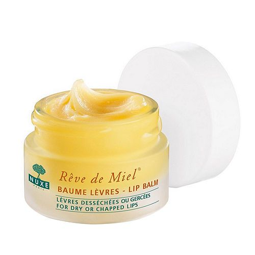 NUXE Reve de Miel Ultra-Nourishing Lip Balm .  Has real honey in it and it tastes so good on your lips...
