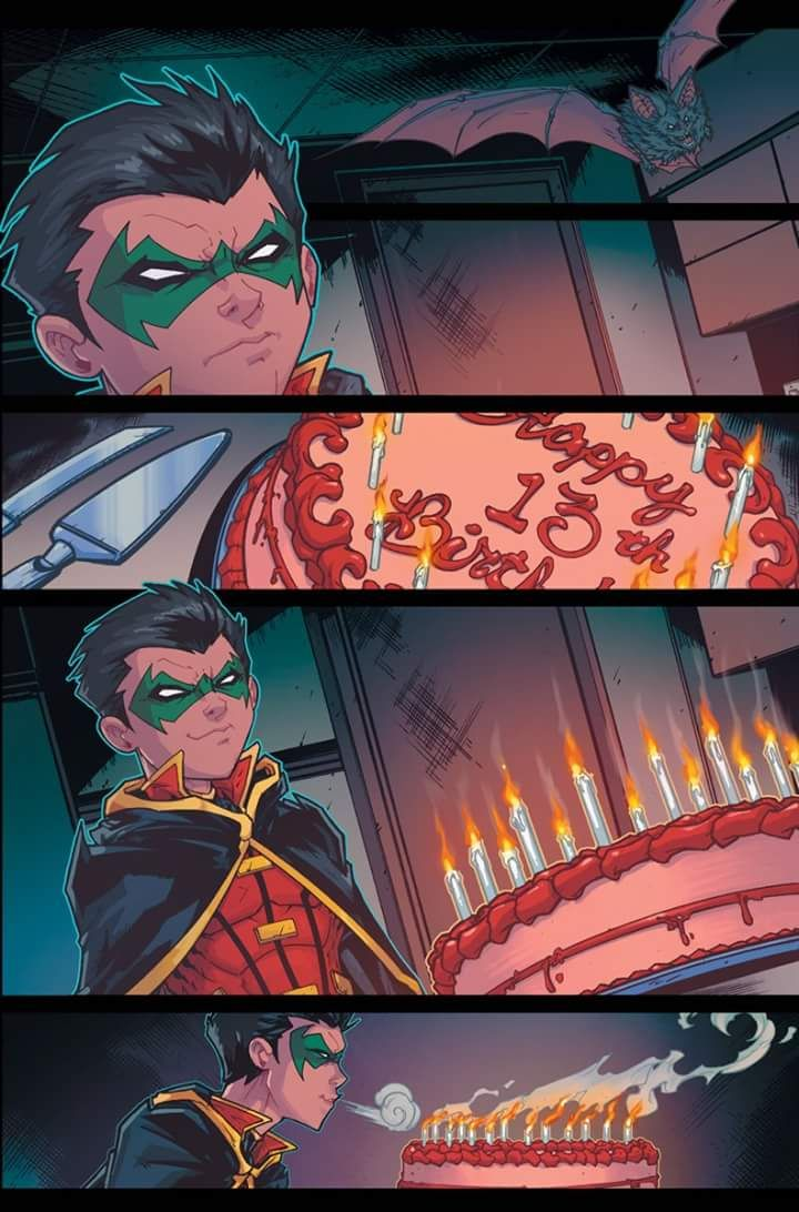 Happy 13th Birthday, Damian Wayne :)