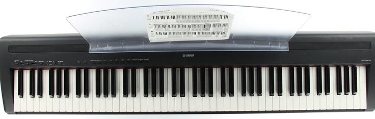 YAMAHA P-85 Black Digital Piano With Stand