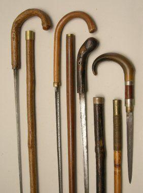 18th Century Sword Canes