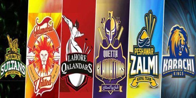 Pakistan Super League Psl 2018 Psl Teams Psl Psl Schedule