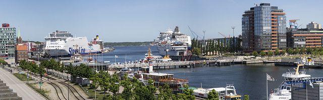 Panorama: Hafen Kiel | Flickr - Photo Sharing!