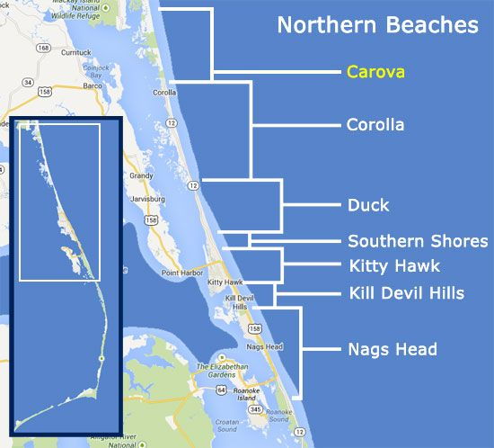 Duck Island North Carolina Rentals