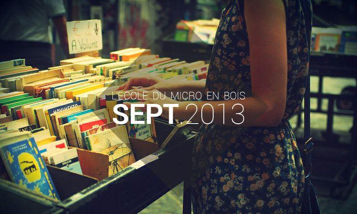 Playlist Septembre 2013 - L'école du Micro en Bois http://lecoledumicroenbois.com/playlist-septembre-2013/