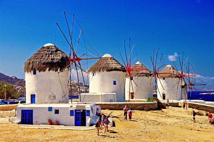 Mykonos Windmills | Smile Greek