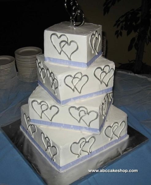 two hearts one love wedding decorations two hearts one wedding cake wedding ideas 8138