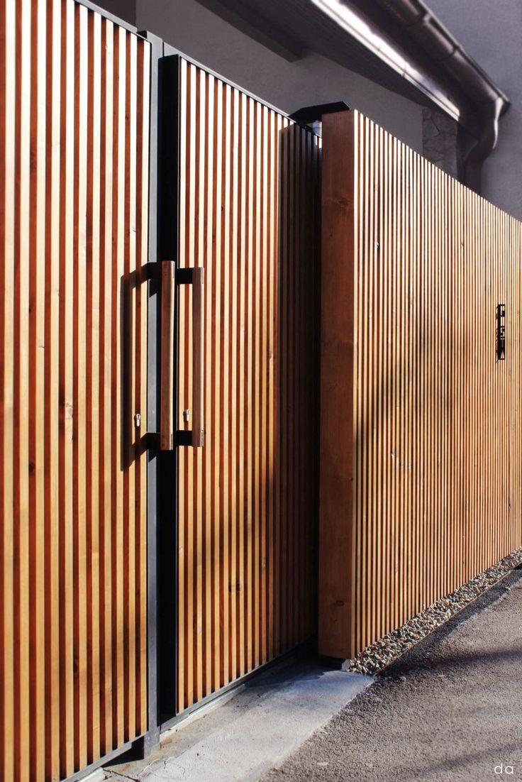 Haus design eingangstor  best Забор images on pinterest  door entry fence gate and fences