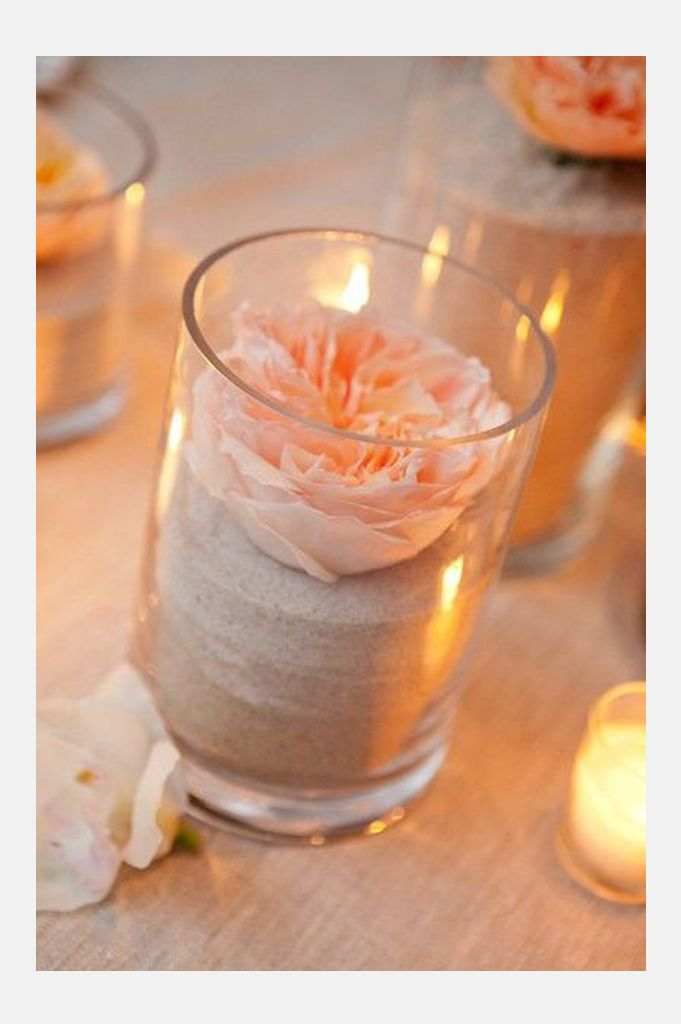DIY Summer Wedding Centerpieces ~  we ❤ this! moncheribridals.com #DIYweddingcenterpiece