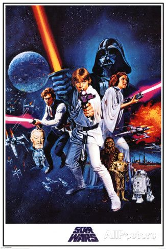 Star Wars A New Hope Affiche