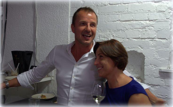 It was great again!!!! Nana Cichoń and Janusz Szaniawski (The Fine Food Group)