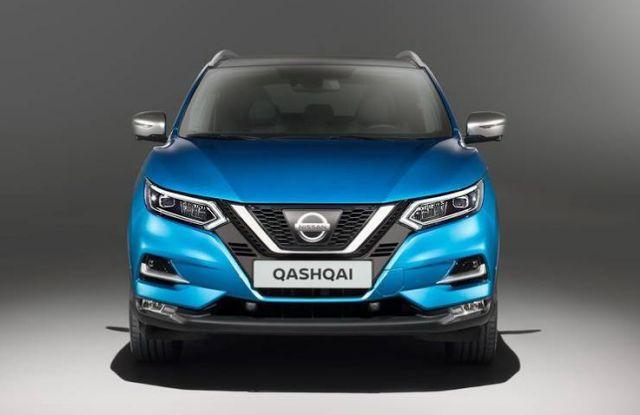 2018 Nissan Qashqai Front