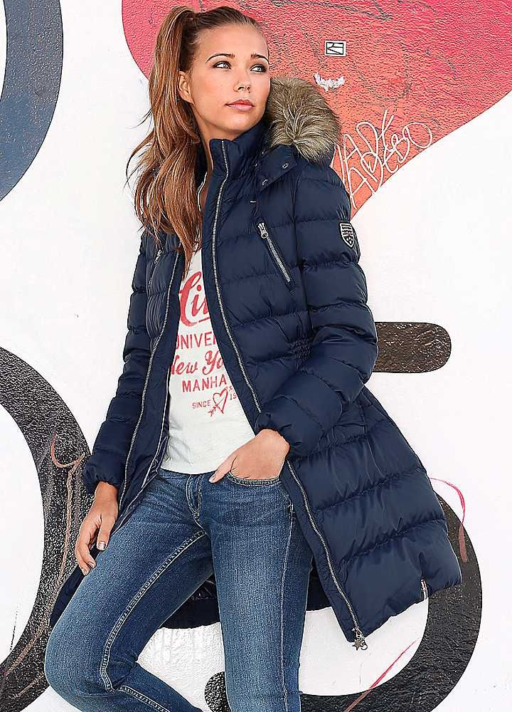Maria Puffa Quilted Coat By Hilfiger Denim Efter 229 R 2014