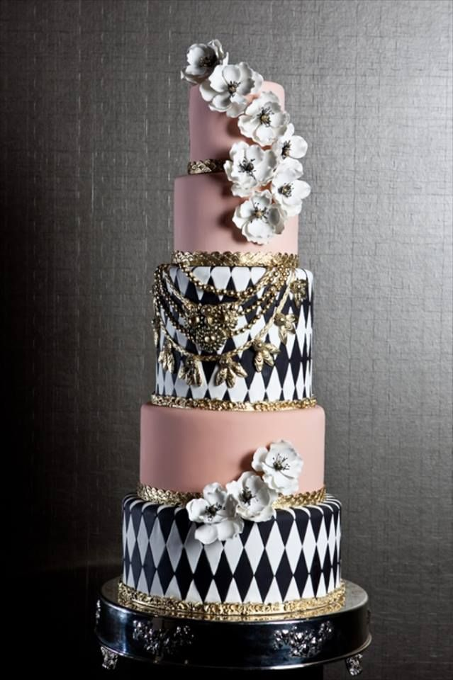 Eye-Catching Wedding Cake Inspiration. To see more: http://www.modwedding.com/2014/07/02/eye-catching-wedding-cake-inspiration-2/ #wedding #weddings #wedding_cake Featured Wedding Cake: Fine Cakes By Zehra; Featured Photography: verve photo co.
