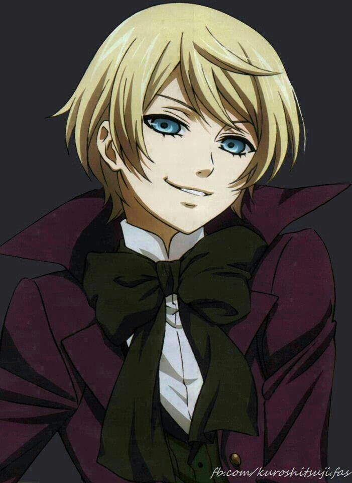 Tbh, Alois is one of the characters that I find truly annoying. He is a pathetic brat. I know he has a terrible past but that is no excuse to: 1. Poke someones eyes out; 2. Act spoilt and 3. Make Claude do everything. This guy can't do sh*t and whenever he fails he whines at Claude. Lots of people love him because he is cute in appearance, some people may like his twisted personality and some people feel sorry for him which I can understand. (Continued in the comments)