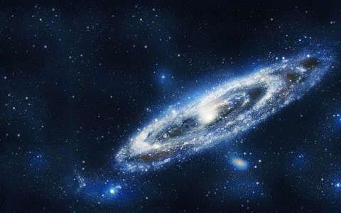 Csillagköd háttérkép, fotó