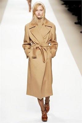 Le manteau Max Mara