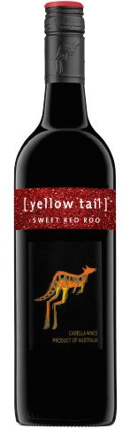 Sweet Red Roo | yellow tail wine