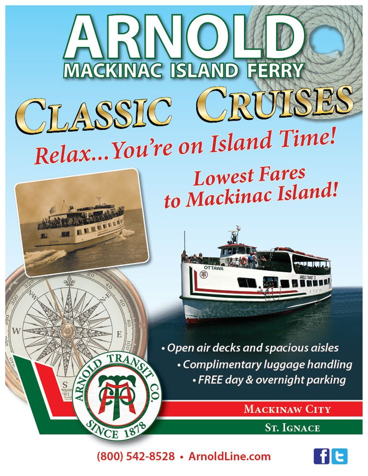 Prices On Arnold Ferry To Mackinac Island