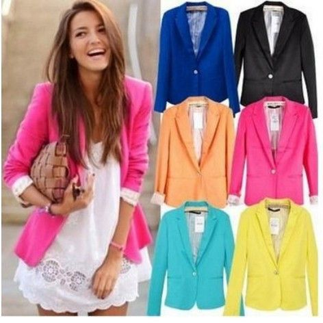 This fashionable, stylish, and new blazer will bring style and quality to your wardrobe! Get huge savings on this jacket! Wear it casual, dress it up, or just simply wear it because you like it!