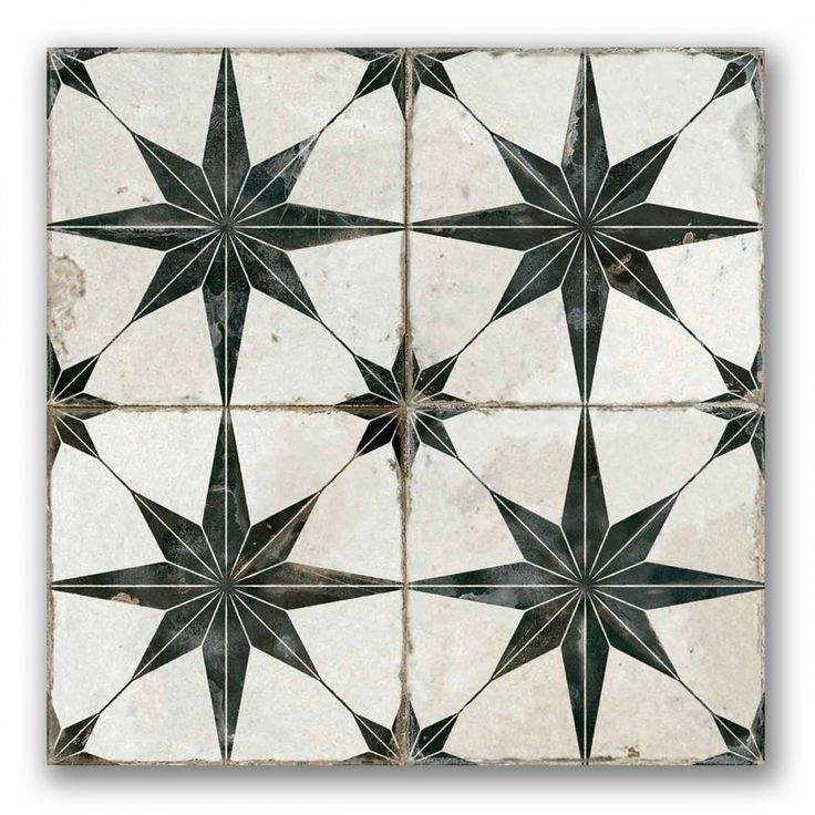 Heritage Star | Patterned Tiles | Porcelain Superstore