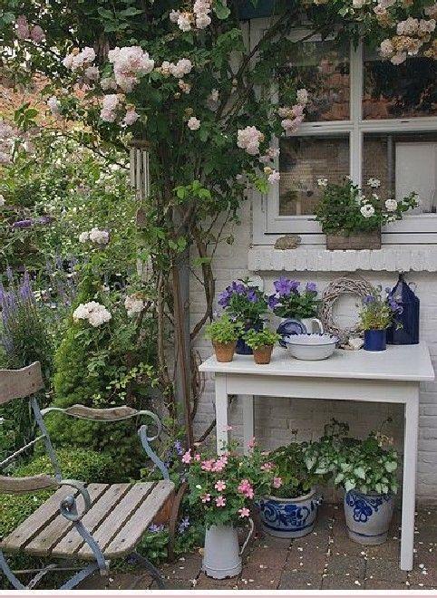 Schöne Cottage Garden Design-Ideen 6