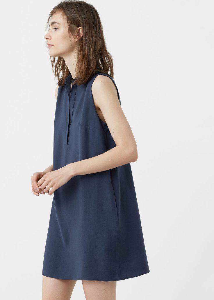 Shirt dress | MANGO