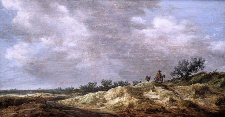 https://flic.kr/p/h8SKSW | IMG_5968 Jan Van Goyen. From 1596 to 1656. The Hague. Path in the dunes. 1629 | Jan Van Goyen. 1596-1656. La Haye. Chemin dans les dunes. 1629.  Francfort Städelmuseum  Jan Van Goyen. From 1596 to 1656. The Hague. Path in the dunes. 1629. Frankfurt Städelmuseum