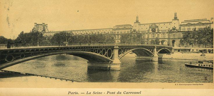 El Puente de Triana y Le Pont du Carrousel de Paris http://www.trianaocio.es/#!El-Puente-de-Triana-y-Le-Pont-du-Carrousel-de-Paris/c226x/0ADD78E0-55DC-44E6-968E-E69127893977