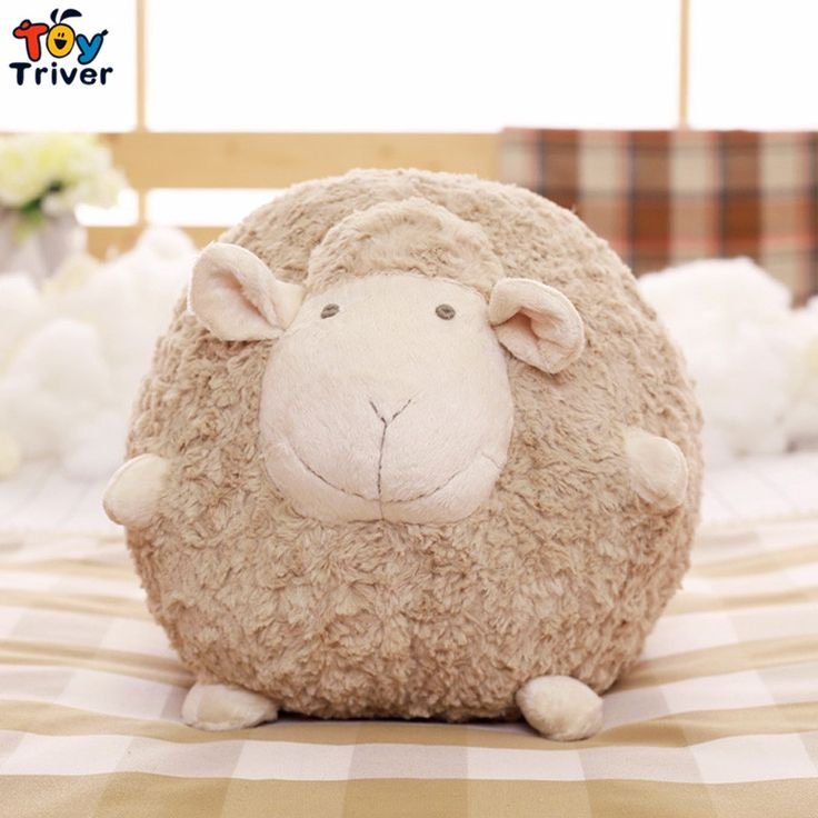 Cheap doll pillow, Buy Quality girl birthday gifts directly from China cushion baby Suppliers: Cute Soft Plush Fat Sheep Ball Toy Stuffed Lamb Sleeping Sheep Doll Pillow Cushion Baby Kids Friend Girl Birthday Gift Triver