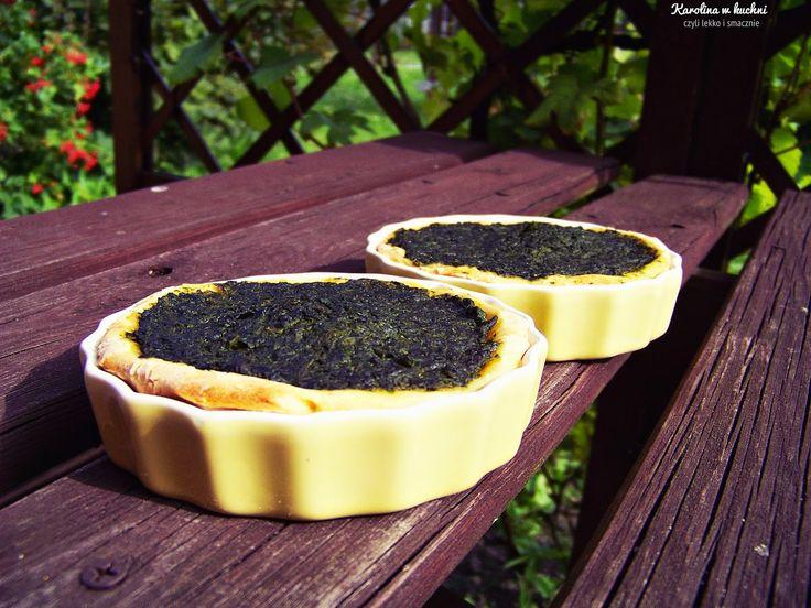 Tartaletki szpinakowe ( 1 porcja : 230 kcal ) | Karolina w kuchni