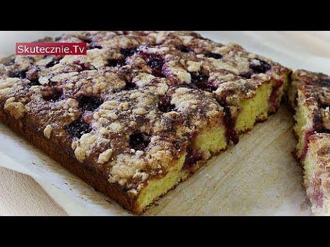 Ciasto z owocami i kruszonką -proste, pulchne, bez miksera :: Skutecznie.Tv [HD] - YouTube