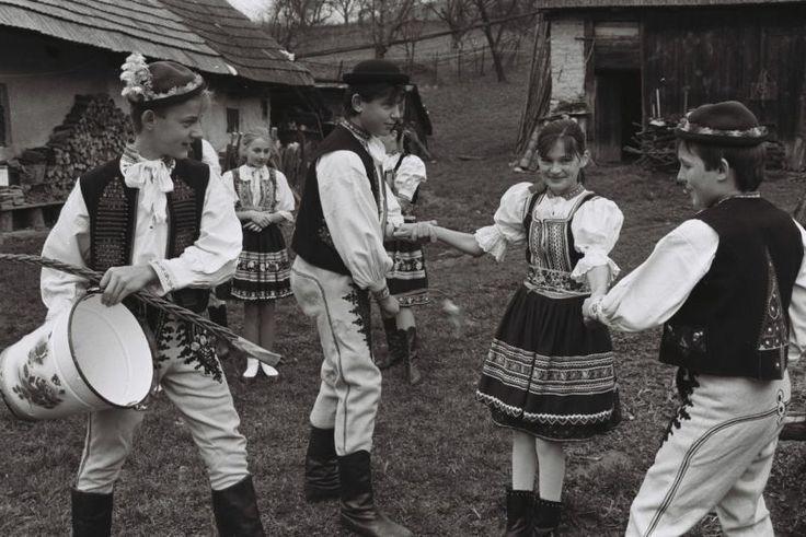 Veľkonočná oblievačka 11. apríla 1994 v Selci