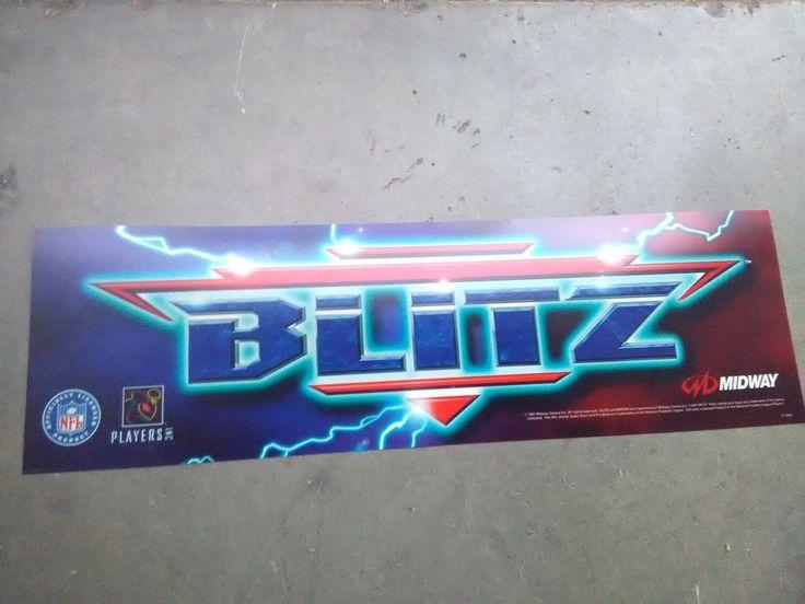 Nfl Blitz Arcade Marquee #3