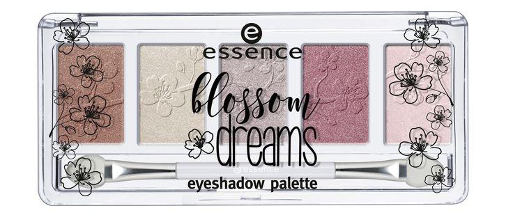 essence blossom dreams eyeshadow palette