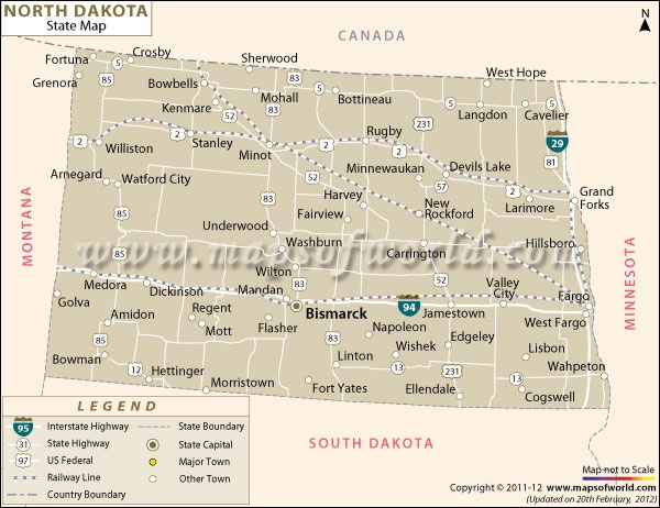 Best ROAD MAPS OF THE UNITED STATES Images On Pinterest Road - Map of nd
