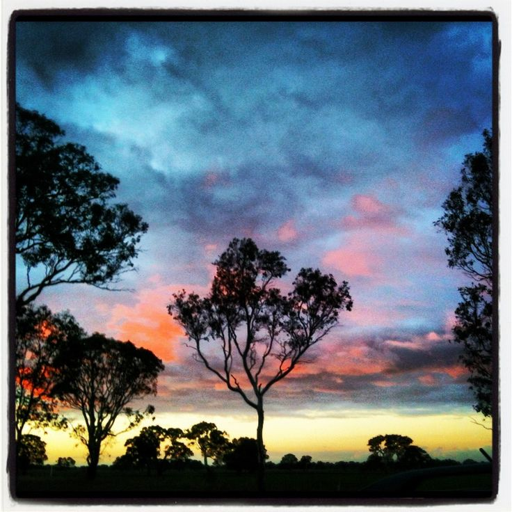 The colours in our skies, just after sunset in The Coonawara; Limestone Coast, South Australia; Margaret hage