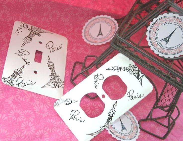 PARIS Eiffel Tower Switch Plate And Outlet Set Paris Themed. $19.50, Via  Etsy.