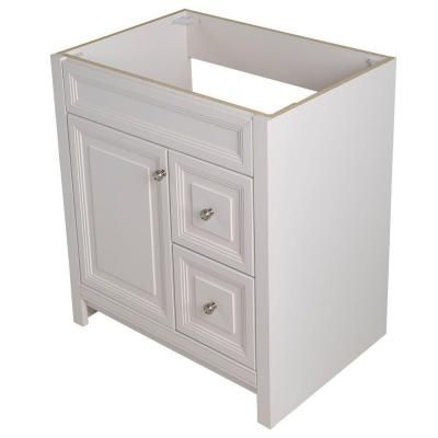 Home Decorators Collection Brinkhill 30 In W Vanity Cabinet Only In Cream Home Ps And The O 39 Jays